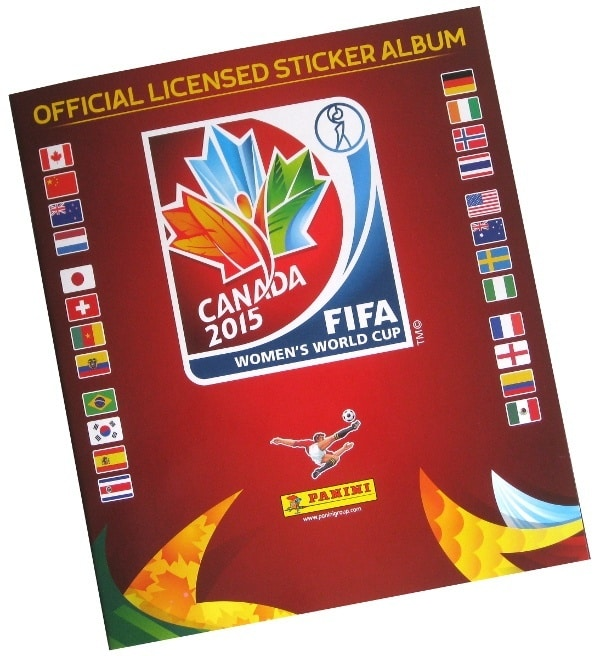 Panini World Cup Canada 2015 Sticker Album