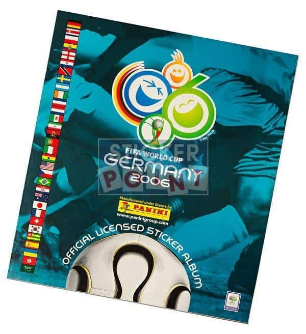 Panini World Cup 2006 Album Front