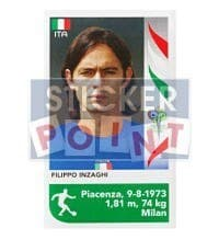 Panini World Cup 2006 Update Sticker - Filippo Inzaghi