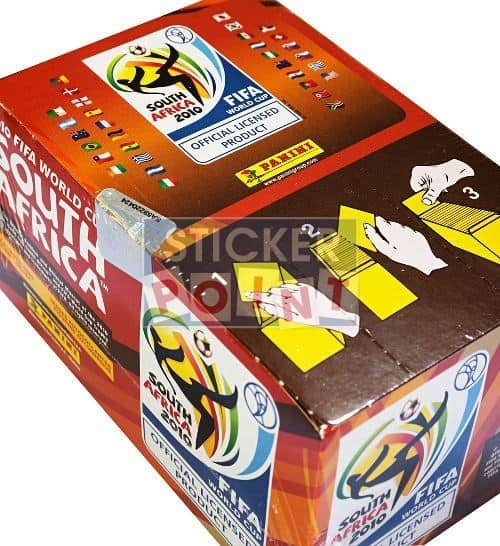 Panini World Cup South Africa 2010 Display Box Top