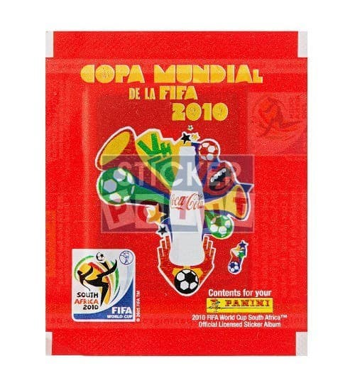 Panini World Cup 2010 Coca Cola Packet South America Front