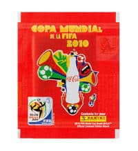 Panini World Cup 2010 Packet - Coca Cola South America