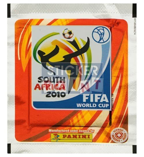 Panini World Cup 2010 Packet Edition Switzerland Front