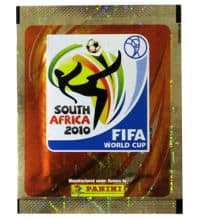 Panini World Cup 2010 Packet Gold - Sticker With blue Back