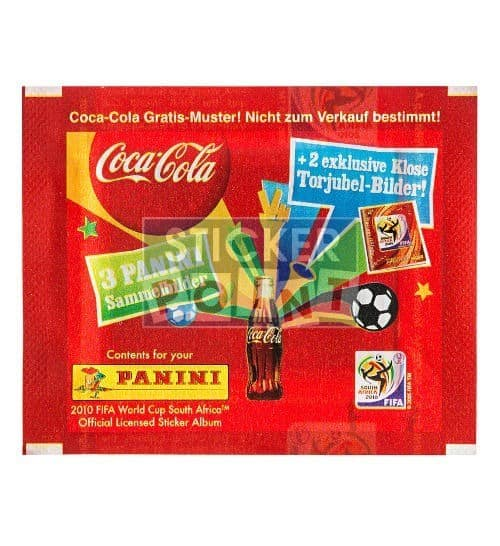 Panini World Cup 2010 1 Coca Cola Packet Klose Front