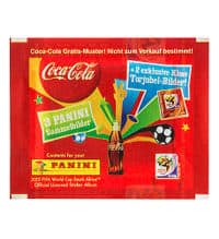 Panini World Cup 2010 Packet - Coca Cola Klose Somersault