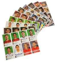Panini World Cup 2010 Update - 10 Sheets With 80 Stickers