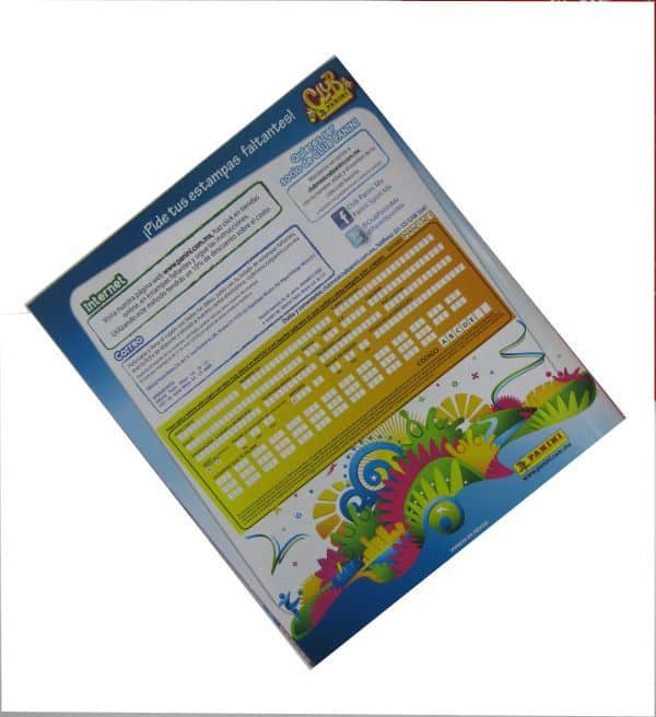 Panini World Cup Brazil 2014 Album Mexico Order Form