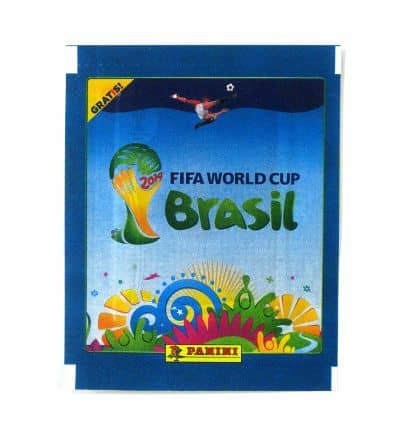 Panini World Cup Brasil 2014 Packet Blue - For Free