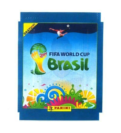 Panini World Cup Brasil 2014 Packet Blue - Gratuit