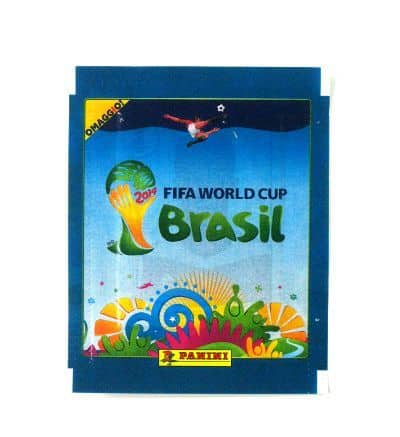 Panini World Cup Brasil 2014 Packet Blue - Omaggio