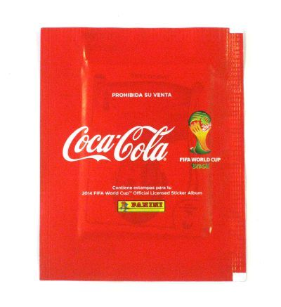 Panini World Cup Brasil 2014 Packet - Coca Cola Mexico