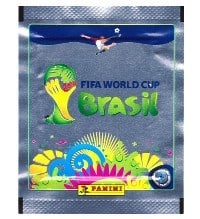 Panini World Cup Brasil 2014 Packet - Platinum Edition