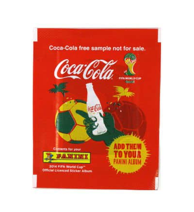 Panini World Cup Brasil 2014 Packet - Coca Cola Austria