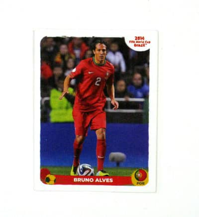 Panini World Cup Brasil 2014 Special Sticker A - Bruno Alves