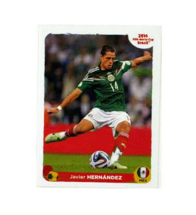 Panini World Cup Brasil 2014 Special Sticker D - Javier Hernández