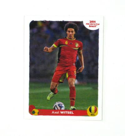 Panini World Cup Brasil 2014 Special Sticker  F - Axel Witsel
