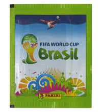 Panini World Cup Brasil 2014 Packet Green