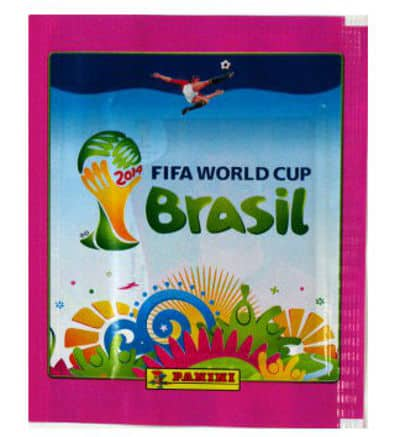 Panini World Cup Brasil 2014 Packet Pink - Version Thailand