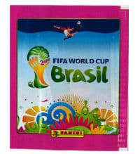 Panini World Cup Brasil 2014 Packet Pink