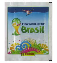 Panini World Cup Brasil 2014 Packet White