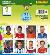 Panini World Cup Brasil 2014 Update Set - 71 Sticker