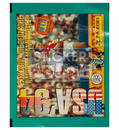 Panini World Cup 94 Packet German World Cup 1994 Front