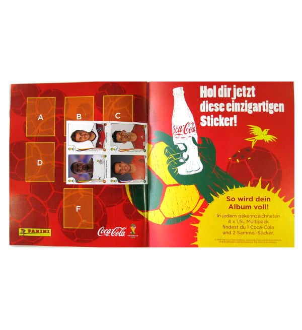 Panini World Cup Brasil 2014 Album Austria For Freesticker