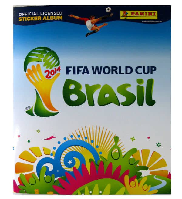Panini World Cup Brasil 2014 Album Austria Cover