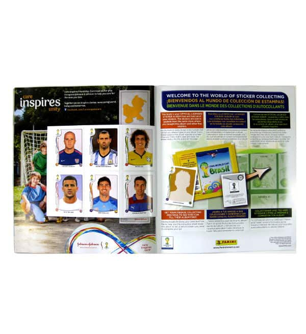 Panini World Cup Brasil 2014 Album USA For Freesticker