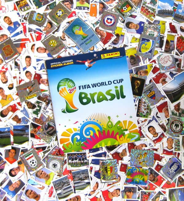 Panini World Cup Brasil 2014 complete set - All 640 Stickers + Album