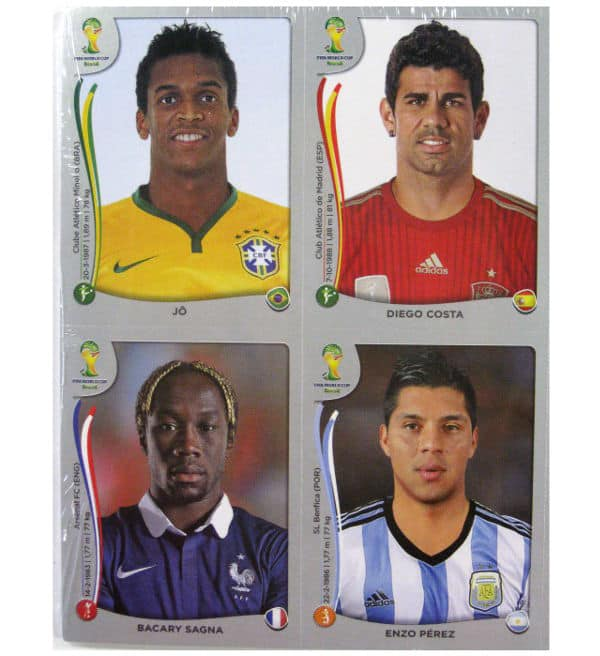 Panini World Cup Brasil 2014 Platinum Edition - Update Set subsequently Nominated Players