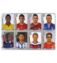 Panini World Cup Brasil 2014 Platinum Edition Update Set