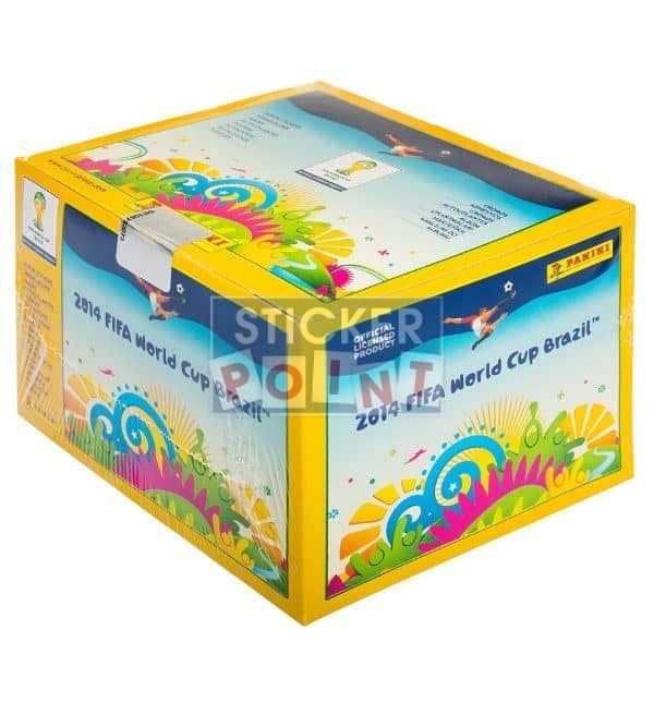 Panini World Cup Brazil 2014 Display - Box with 100 Packets