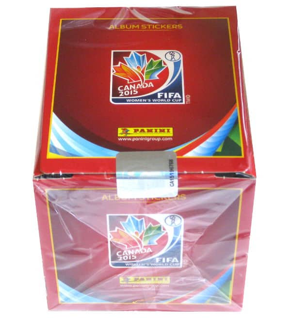 Panini Womens World Cup 2015 Sticker Box 50 Packets