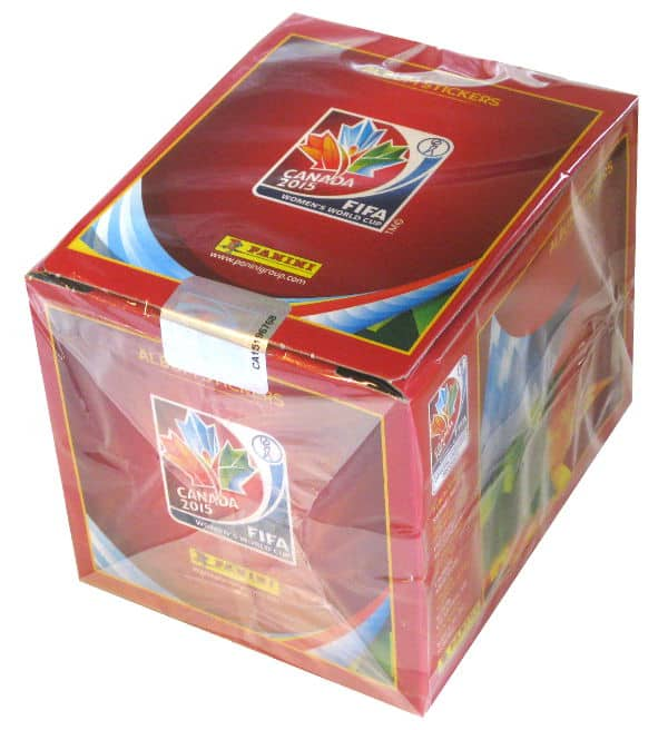 Panini World Cup Canada 2015 Box With 50 Packets