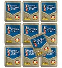 Panini World Cup 2018 Stickers - 10 Packets
