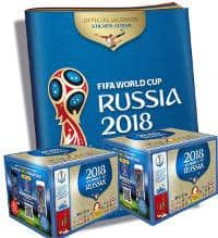Panini World Cup 2018 Stickers - 2 Boxes + 1 Album