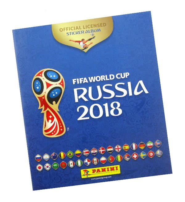 Panini World Cup 2018 Album 670