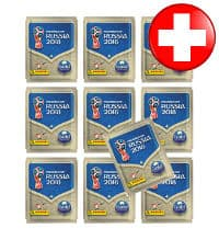 Panini World Cup 2018 Stickers - Gold Edition 10 Packets