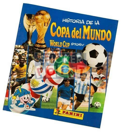 Panini Panini World Cup Story Album Front