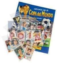 Panini World Cup Story - All 228 Stickers + Album