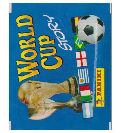 Panini World Cup Story - Packet with 4 stickers