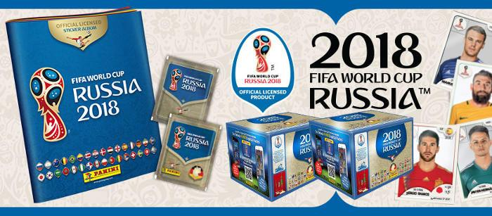 Panini Russia 2018 Sticker