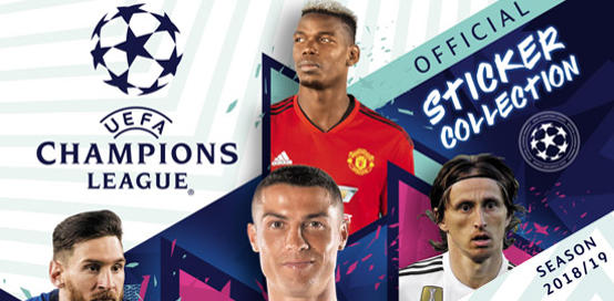 Topps Champions League Stickers 2018 / 2019