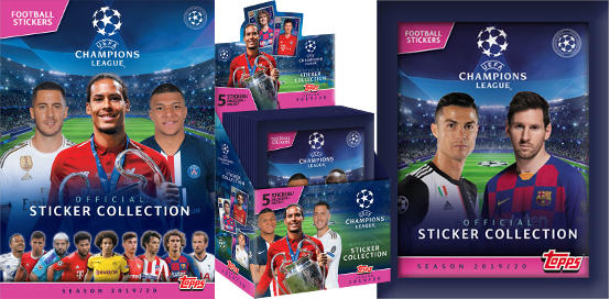 Topps Champions League Stickers 2019-2020