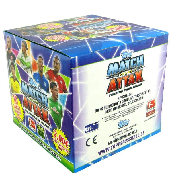 Topps Bundesliga Match Attax 2015 / 2016 - 500 Cards