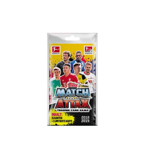 Topps Bundesliga Match Attax 2018/19 Blister