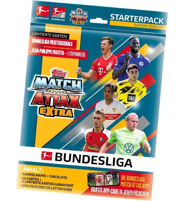 Topps Bundesliga Match Attax Extra 2020 21 Starterpack Stickerpoint
