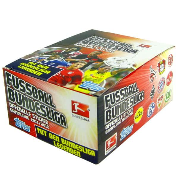 Topps Bundesliga Stickers 2011 / 2012 - 50 Packets